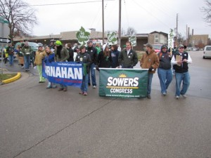 Carnahan & Sowers in Rolla St. Pat's Parade 2010